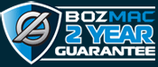 Bozmac Guarantee Badge